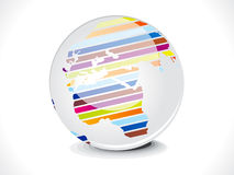 Abstract glossy business globe Stock Images