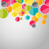 Abstract Glossy Circle Background Vector Illustration Royalty Free Stock Photos