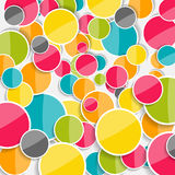 Abstract Glossy Circle Background Vector Illustration Royalty Free Stock Photo