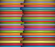 Abstract glossy coil backdrop in rainbow color Royalty Free Stock Photos