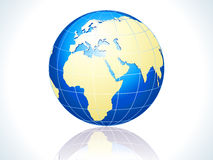 Abstract glossy globe icon Stock Photos