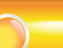 Abstract glossy orange background Stock Image
