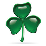 Abstract Glossy Shamrock Stock Images