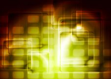 Abstract glossy squares vector design Royalty Free Stock Images