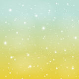Abstract Glossy Star Sky Vector Illustration Background. EPS10 Stock Photo