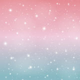 Abstract Glossy Star Sky Vector Illustration Background. EPS10 Royalty Free Stock Photography