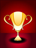 Abstract glossy trophy Royalty Free Stock Image