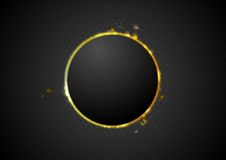 Abstract glow circle background Stock Image