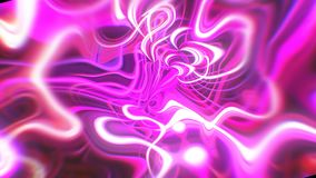 Abstract glow energy background with visual illusion and wave effects, 3d render computer generating. Abstract glow energy background with visual illusion and stock footage