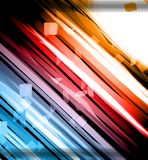 Abstract Glow of Lights background Stock Photography