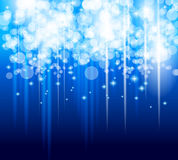 Abstract Glow of Lights background Stock Photo