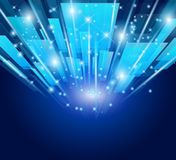 Abstract Glow of lights for Business Royalty Free Stock Photography