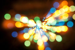 Abstract Glow Soft bokeh Hearts for Valentines Day Background Design Stock Photos