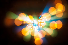 Abstract Glow Soft bokeh Hearts for Valentines Day Background Design Royalty Free Stock Photo