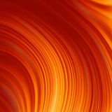 Abstract glow Twist background with golden flow. EPS 8 Stock Photography