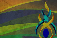 Abstract glow Twist background. At thai Royalty Free Stock Photos