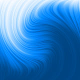 Abstract glow Twist with blue flow. EPS 8 Royalty Free Stock Image