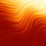 Abstract glow Twist with golden flow. EPS 8 royalty free illustration