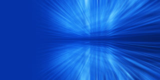 Abstract glowed rays Royalty Free Stock Photography