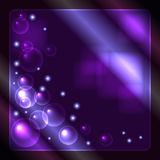 Abstract glowing background. For various design artwork Royalty Free Stock Photos