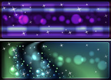Abstract glowing background. For various design artwork Stock Photography