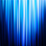 Abstract glowing background. With blue stripes. Vector illustration Royalty Free Stock Images