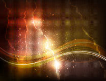 Abstract glowing background. Stock Photography