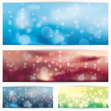 Abstract glowing background illustration Stock Photography