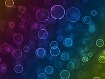 Abstract glowing circle Royalty Free Stock Photos