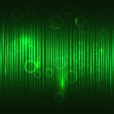 Abstract glowing green vector background. Royalty Free Stock Photo