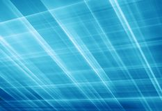 Abstract glowing grid background in perspective concept series. Abstract glowing grid background in perspective,  blue theme background Stock Image