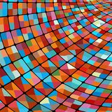 Abstract glowing illustration background. EPS 8 Royalty Free Stock Photo