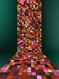 Abstract glowing illustration background. EPS 8 Royalty Free Stock Photos