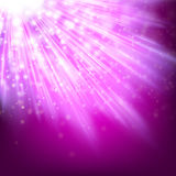 Abstract glowing lilac background. EPS 10 Royalty Free Stock Photos