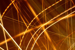 Abstract glowing lines 3 Royalty Free Stock Images