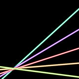 Abstract glowing neon background Royalty Free Stock Images