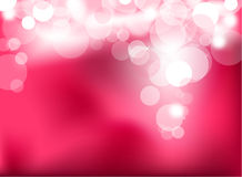 Abstract glowing pink lights Royalty Free Stock Images