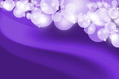 Abstract glowing purple background Stock Image
