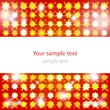 Abstract glowing red background Royalty Free Stock Photos