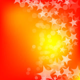 Abstract glowing stars background Stock Photos