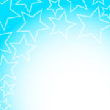 Abstract glowing stars colorful background Royalty Free Stock Image