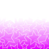 Abstract glowing stars colorful background Royalty Free Stock Photos
