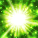 Abstract glowing vector background Royalty Free Stock Images