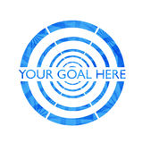 Abstract goal background Royalty Free Stock Photo