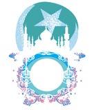 Abstract godsdienstig kader - Ramadan Kareem Design Royalty-vrije Stock Afbeeldingen