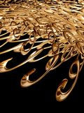 Abstract gold 2 Royalty Free Stock Photos