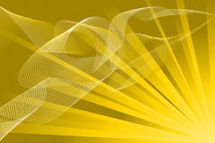 Abstract Gold Royalty Free Stock Photos