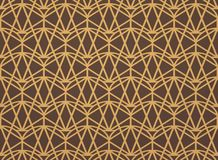 Abstract gold art deco pattern background. Vector eps10 royalty free illustration