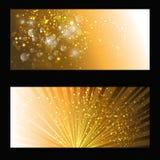 Abstract gold backdrop Stock Photos