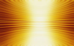 Abstract Gold Yellow Swirl Background. An abstract gold background with depth and a 3D feel Royalty Free Stock Photos